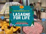 Verkoop van zelfgemaakte lasagne