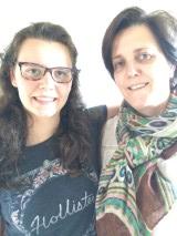 Zoë en mama