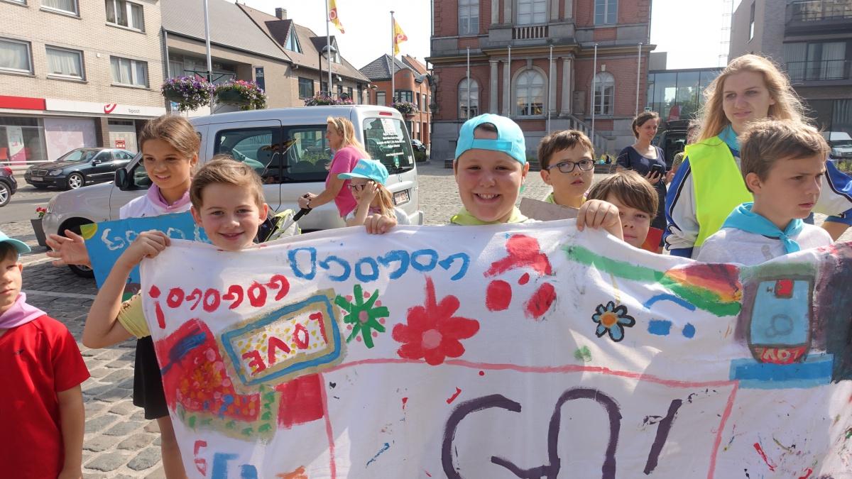 Rollend door Vlaanderen - start in Hooglede