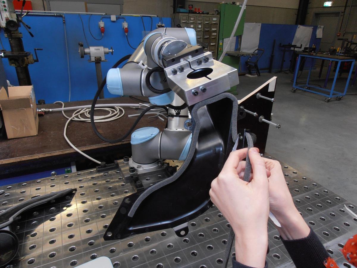 Collaboratieve robot in Mariasteen